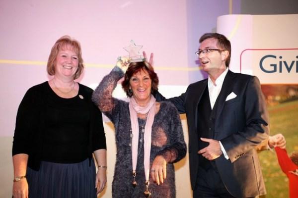 Volunteer of the Year award 2012